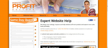 Website Profit Doctors launch its new company website
